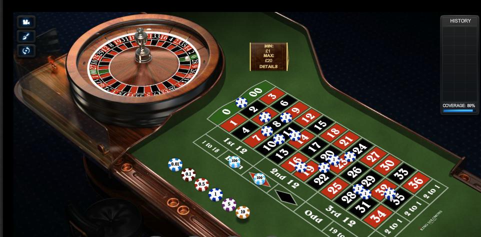 Juegos de ruleta casino